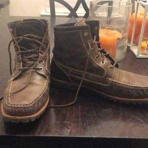 Cole Haan brown boots